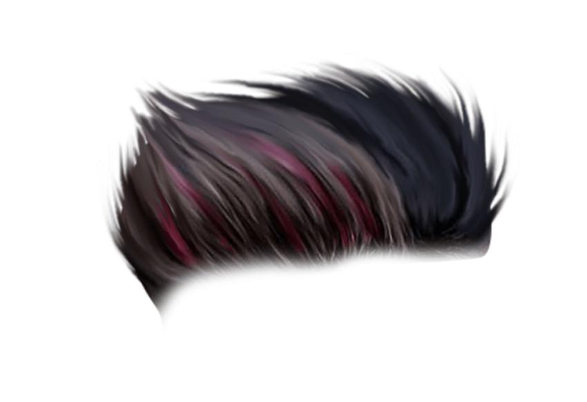 CB Hair PNG - Editing hair png Set Wet
