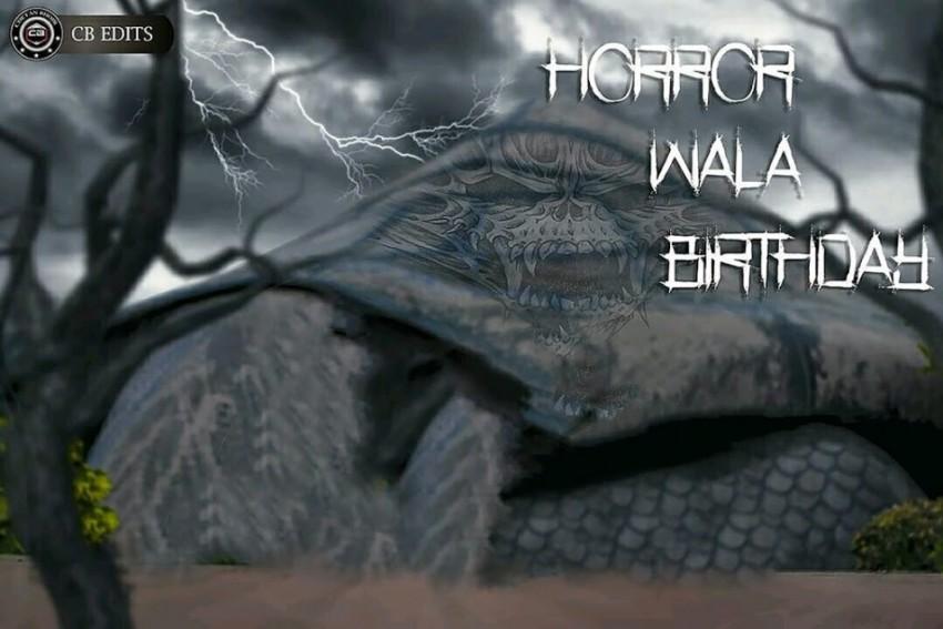 Horror wala birthday CB Back