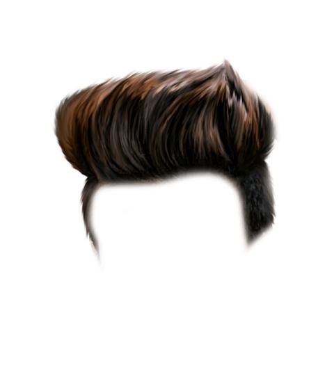 CB men Hair PNG