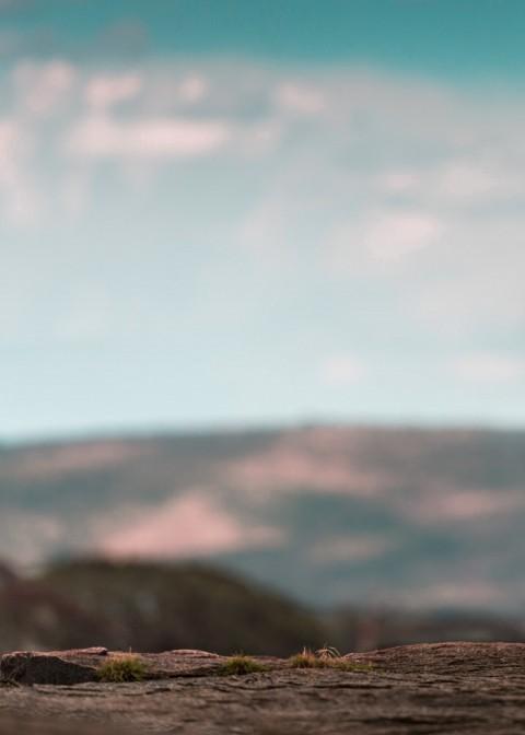 Blurred.