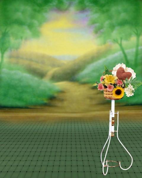 Studio Background Full HD 1080p Flower