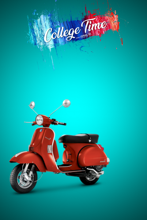 College Scooty CB Editing ba