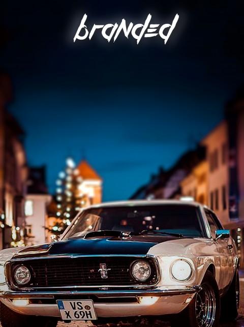 Branded Car CB Background -