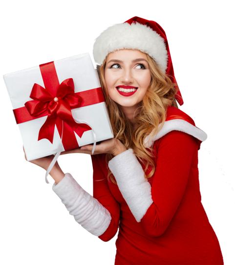 Christmas Girl Png - Christm