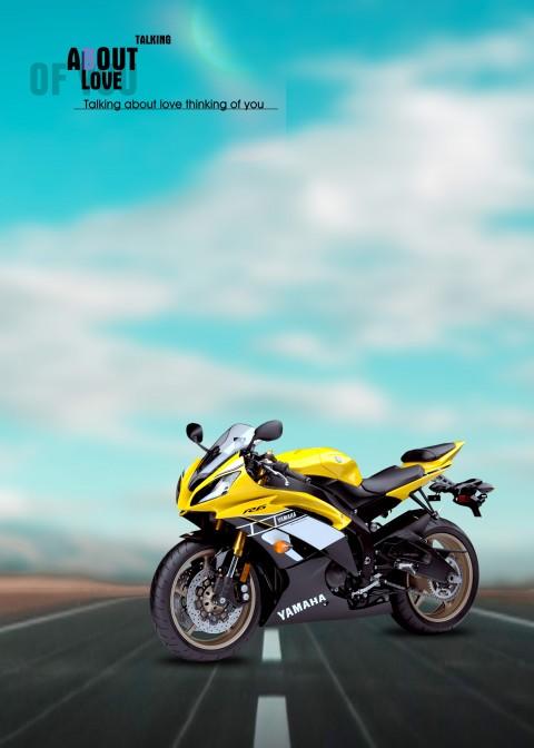 Yamaha Bike CB Background Fu