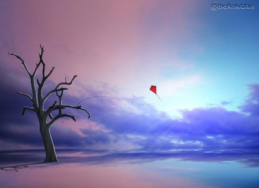 Manipulation Sky Background