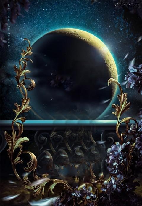 Moon Manipulation Background