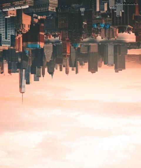 Inverted City CB Background
