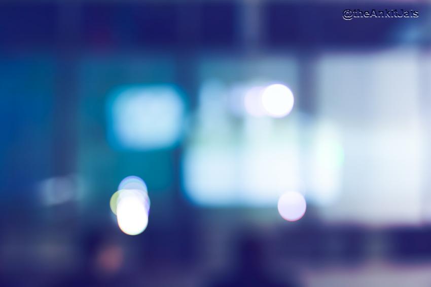 Blurred Bokeh Background HD Photoshop Editing