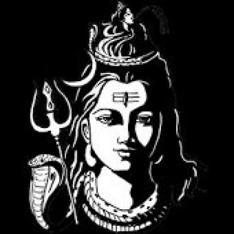 Mahakal Shiv Om Tattoo PNG HD Shivratri