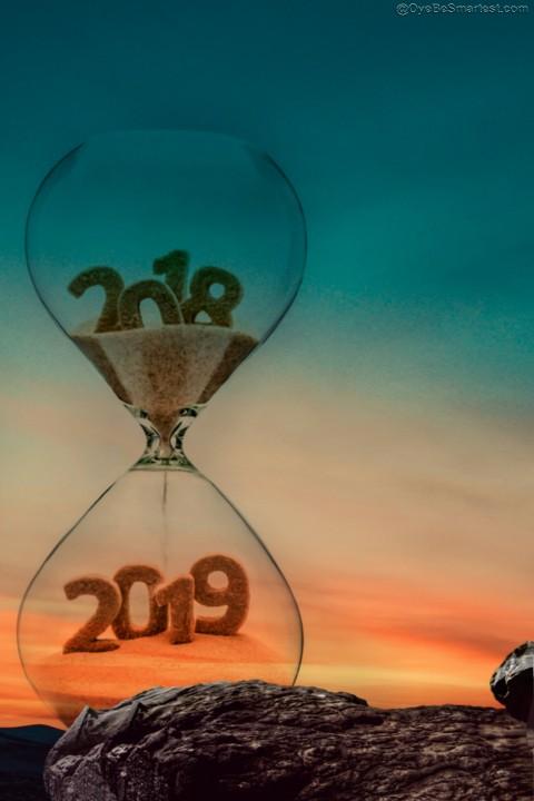 2019 CB Editing Background - Happy New Year HD - PicsArt