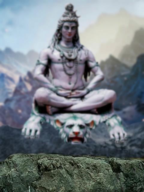 Shivratri SHankar Statue Edt