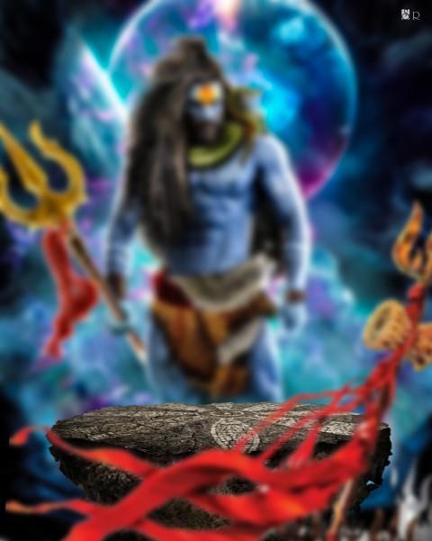 Maha SHivratri Ediitng Backg