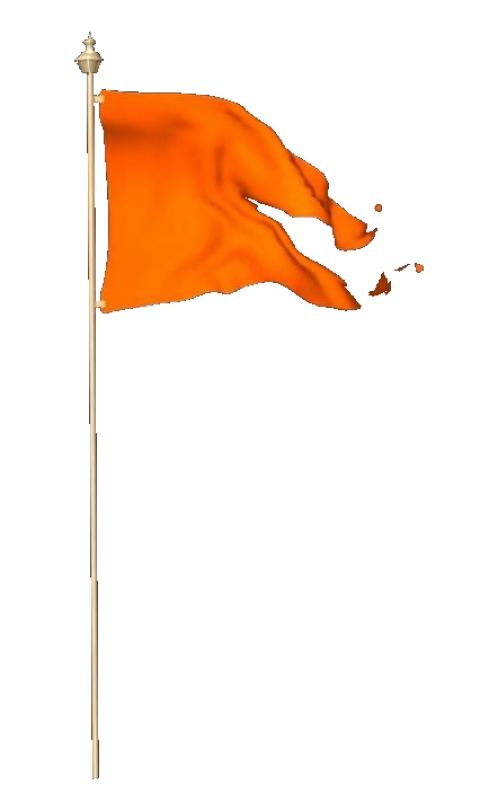 Hindu Tiranga PNG Shiv