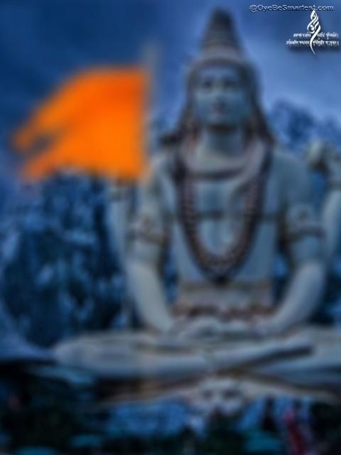 Maha Shivratri editing backg