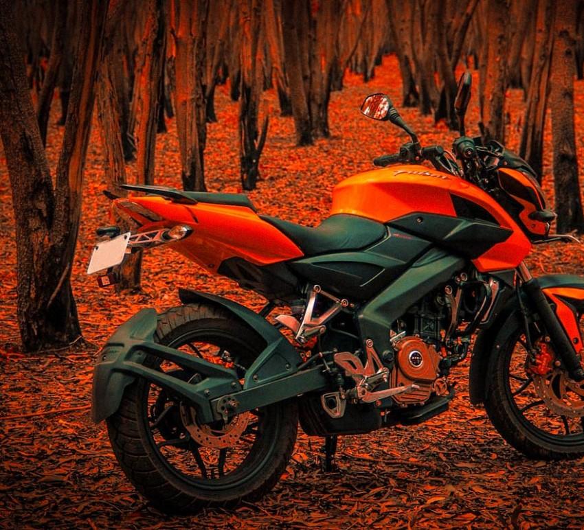 Pulsar bike cb background