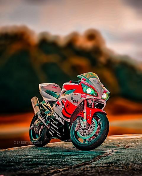 Yamaha bike CB-BACKGROUND ne