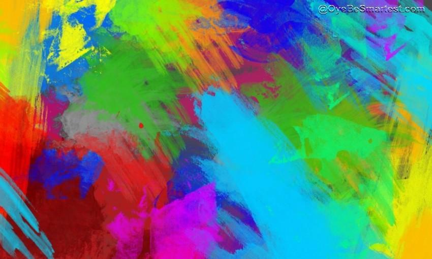 Color Holi Rang Editing Back