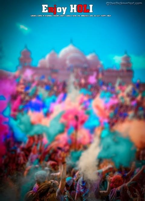 Happy Holi Hai Editing Backg