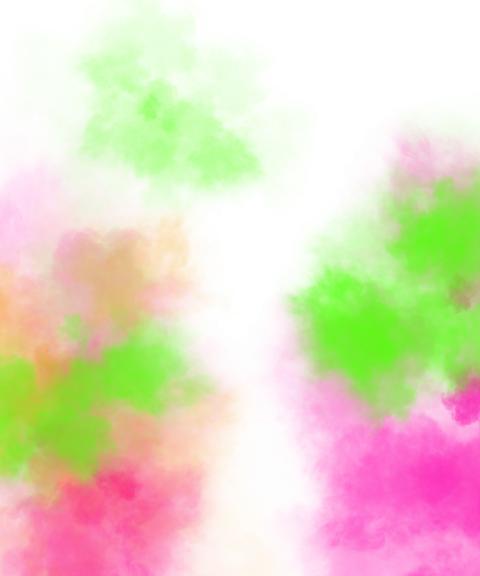abir color splash holi png
