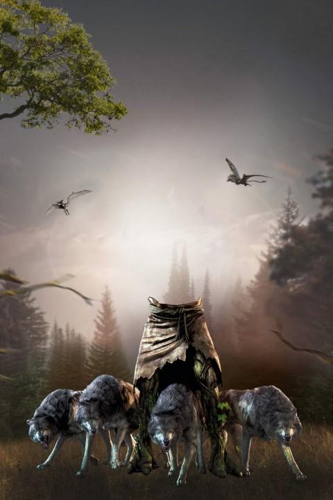 Roman City Movie Poster Back