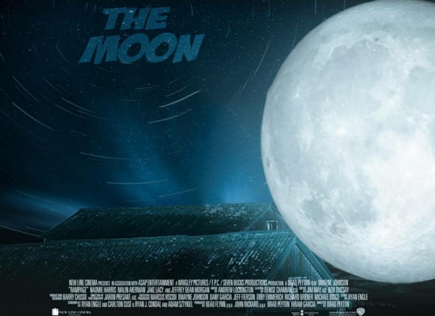 The moon Manipulation Backgr