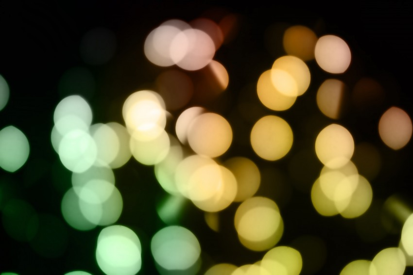 Bokeh overlay PNG Effects- E