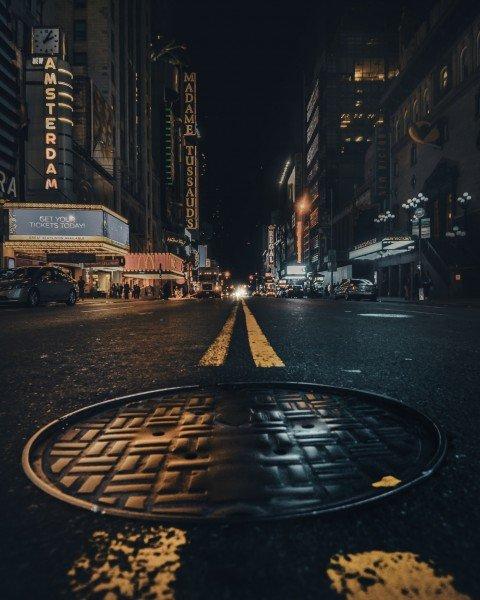 Night Light Editing Backgrou