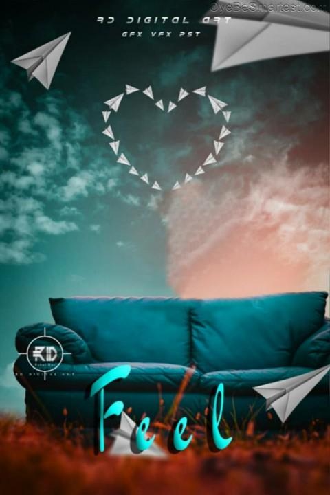 Sofa Poster Editing Backgrou
