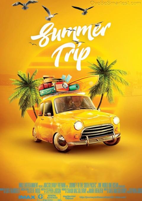 Summer Trip Editing Backgrou