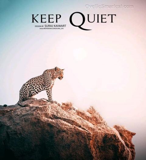Keep Quiet Lion Editing Background PicsArt