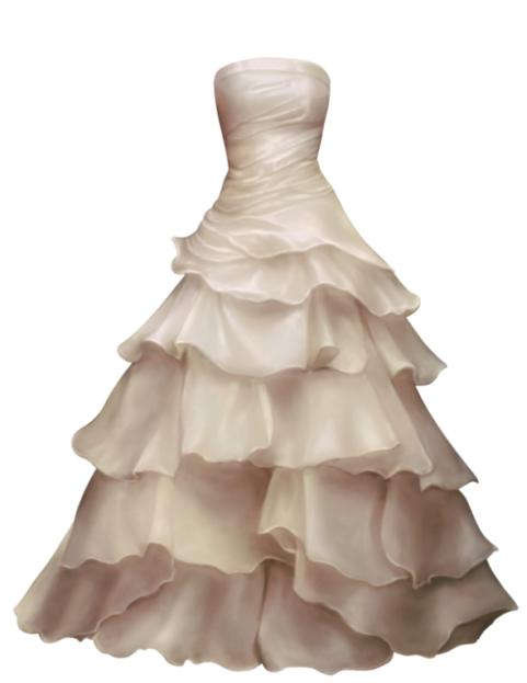 Wedding Dress PNG HD (3)
