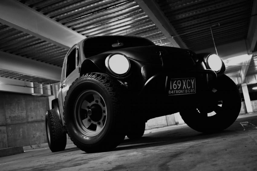 Black and White Jeep CB Edit