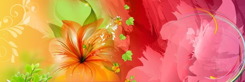 Album Wedding Background Full HD Photoshop 12x36 flower