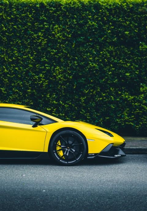 Yellow Car PicsArt Editing Background HD - Nature