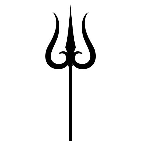 trishul Maha Shivratri PNG -