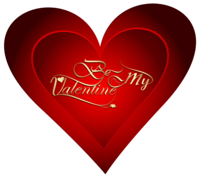 Happy valentines day red Hea