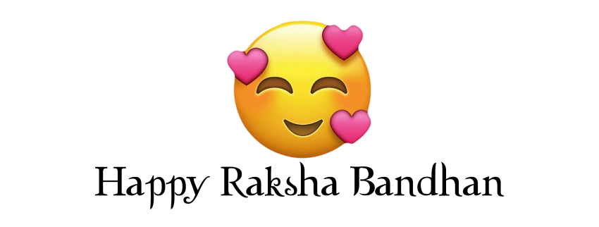 happy emoji raksha bandhan w