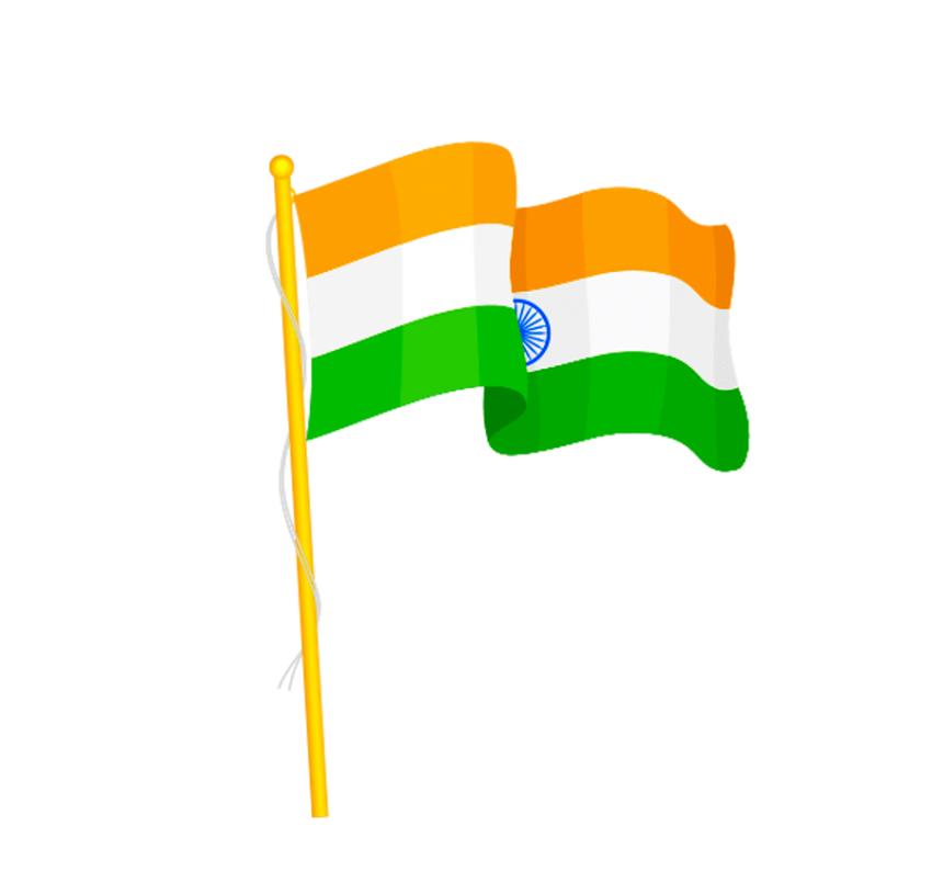 bharat desh Indian Flag PNG
