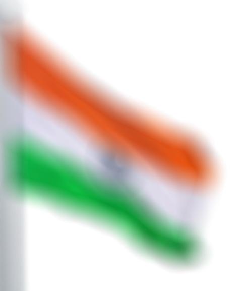 blurr Indian Flag PNG Transp
