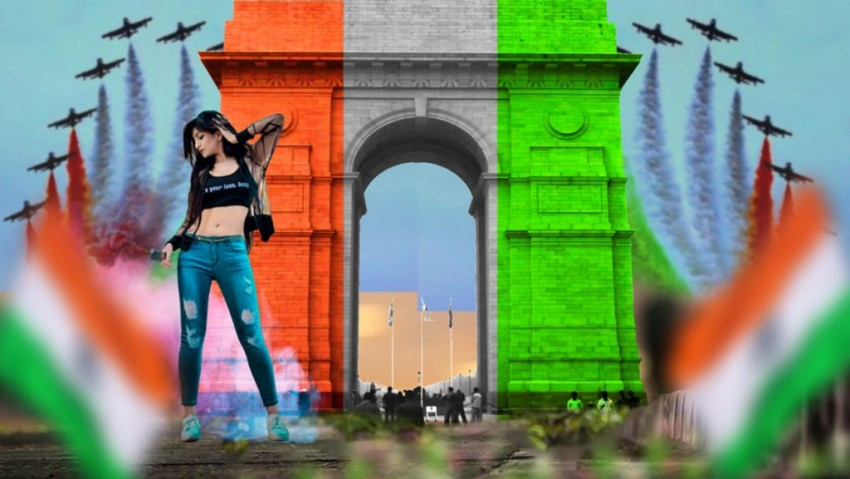 15 August India Gate Editing
