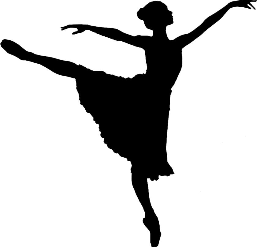 Dancer dancing shadow girl P