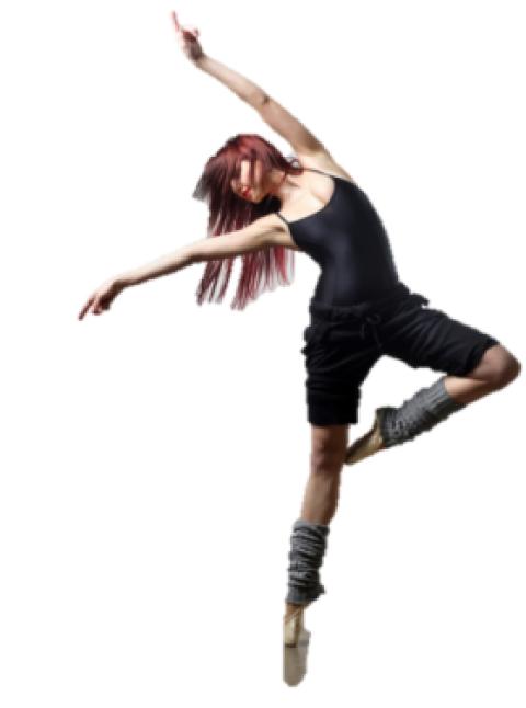Dancing girl woman Png Trans