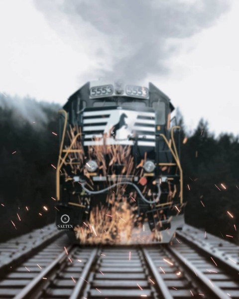Vijay mahar train Editing PicsArt Background04