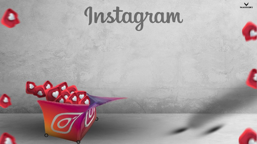 Viral Instagram Editing BACKGROUND Instagram Likes in Cart Manipulaion Editing Background HD-  PicsArt Photoshop