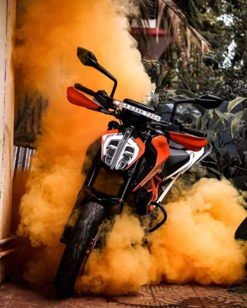 KTM DUKE Bike Background