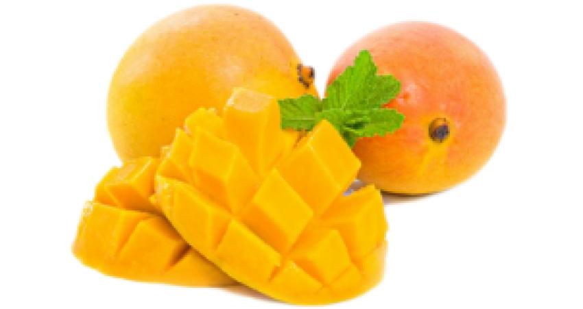 sliced Mango Pieces png hd i