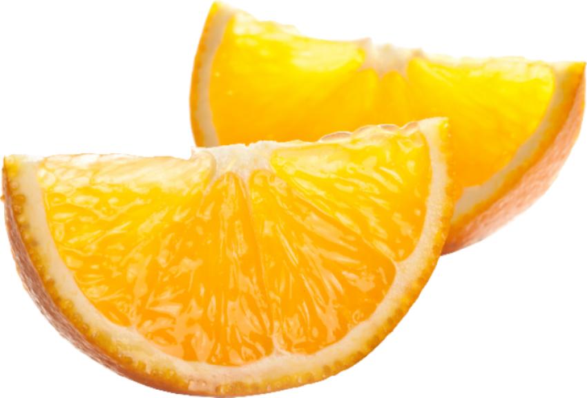 Cut Orange Pieces PNG Vector Image HD (7)