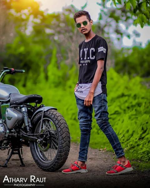 Boy Model Editing Photoshoot