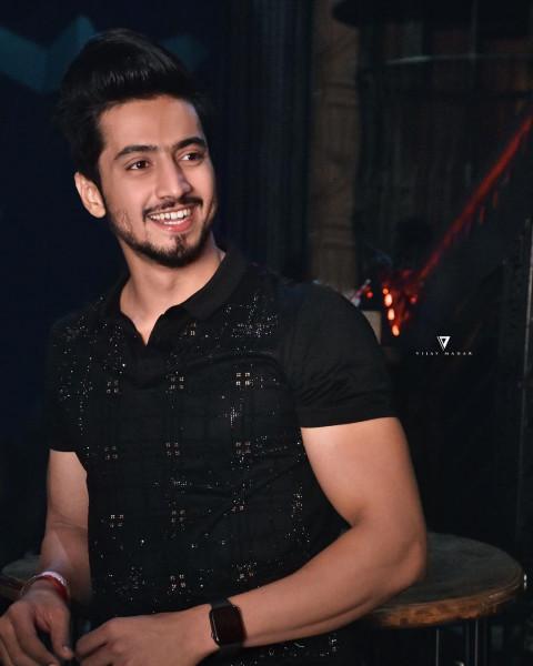 Mr. Faisu Black Shirt Faisal